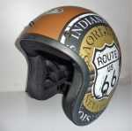 OF-R66-Brown with Gold in Side-Side